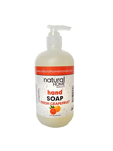 Natural Home Grapefruit Hand Soap, 12 oz, Orange ()