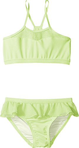 Seafolly Kids Baby Girl's Peekaboo Tankini (Infant/Toddler/Little Kids) Honeydew Swimsuit Set 1 (24 Months)