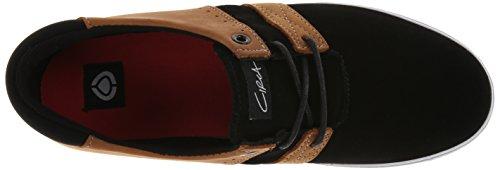 C1rca Mens Rover-b Fashion Sneaker Nero / Cognac