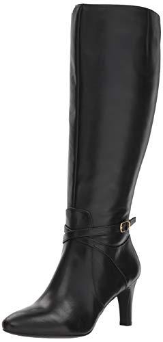 High Heels Lauren (Lauren Ralph Lauren Women's Elberta-W Fashion Boot, Black, 10 B US)