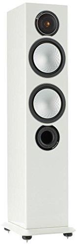Monitor Audio Silver 6 150W Blanco Altavoz - Altavoces (De 2,5 vías, Alámbrico, Terminal, 150 W, 35-35000 Hz, Blanco)