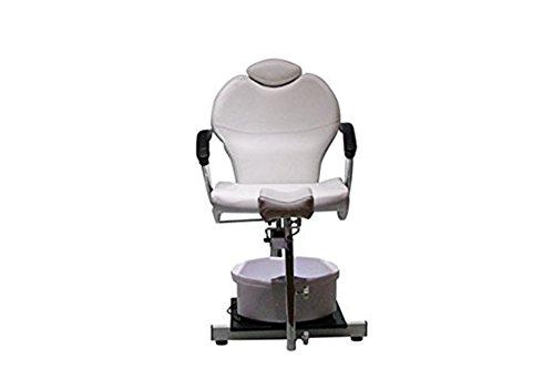 Funnylife Pedicure Station White Hydraulic Spa Chair &Foot Classic Salon Massage Equipment