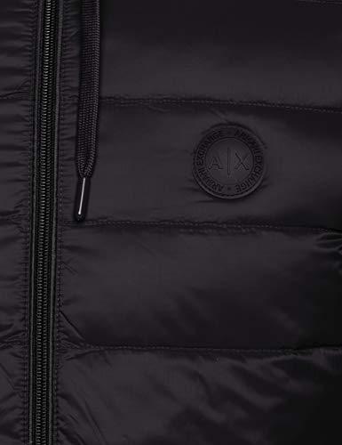 Mel Black Jacket Grey Sports Armani bc09 0217 Men's Black Exchange XCwxfXnRq0