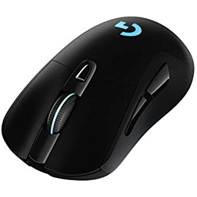 Logitech G703 LIGHTSPEED Pro-Grade Wireless Gaming Mouse  16000 DPI  RGB  Adjustable Weights  Programmable Buttons  On-Board Memory  Long Battery Life  Mac Black