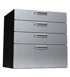 Amazon.com: Steel Cabinet Drawers Stainless Steel: Kitchen ...