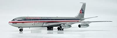 AVIATION200 American Freighter 707-300F 1/200 N7555A Polishe