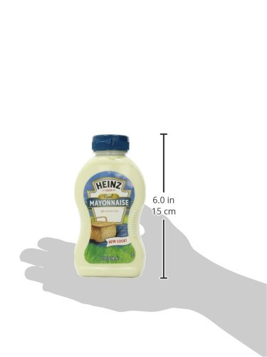 Amazon.com : Heinz Real Mayonnaise, 11.5 Ounce (Pack of 12) : Grocery & Gourmet Food