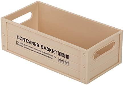 Estanterías para CD DVD Caja de almacenamiento de CD Inicio Dvd Disc CD Rack Multifuncion Productos cosméticos Almacenamiento de botellas de sabor CD papelería cesta de acabado (Size : 227*118*77mm) :