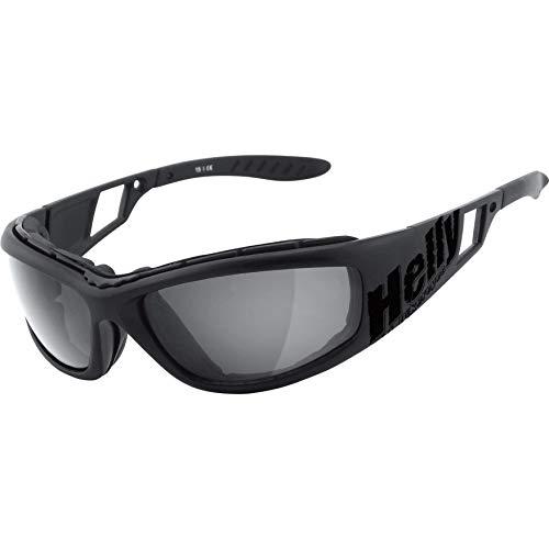 HELLY® – No.1 Bikereyes®   Bikerbrille, Motorradbrille, Motorrad Sonnenbrille   winddicht, gepolstert, beschlagfrei…