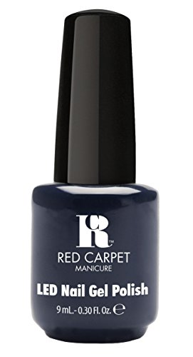 Red Carpet Manicure Gel Polish, Always Slate Never Early, 0.3 Ounce