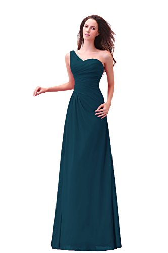 Bridal_Mall - Robe - Trapèze - Femme -  vert - 46