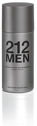 212 By Carolina Herrera, Deodorant Spray For Men, 5 ()