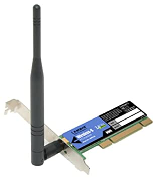 Linksys WMP54G Wireless-G PCI Adapter