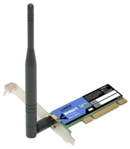 DRIVERS FOR LINKSYS WIRELESS G PCI ADAPTER MODEL WMP54G