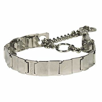 Herm Sprenger Collar Neck Tech, Stainless Steel, 24-Inch, Includes 12 Links Total