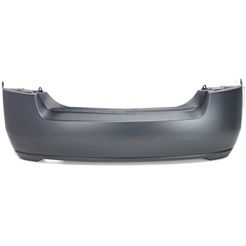 Rear Bumper Cover For 2007-2012 Nissan Sentra Primed CAPA