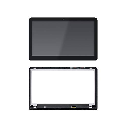 """NBPCLCD 807532-001 15.6"""" LED LCD Display Touch Screen Digitizer Assembly+Bezel Replacement for HP Envy X360 M6-W M6-W105DX M6-W102DX M6-W103DX M6-W101DX 15-W 15-W267CL 15-W237CL"""