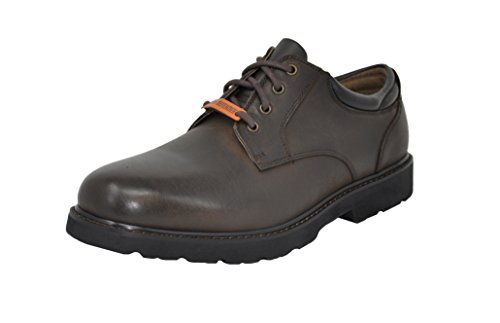 Dockers Men's Shelter Plain-Toe Oxford (10 D(M) US, Chocolate Crazy Horse) (Rounded Toe Oxford Shoes)