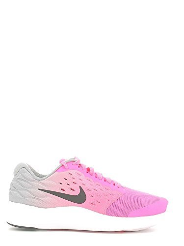 NIKE Lunarstelos GS Youth Running Trainers 844974 Sneakers Shoes 6.5 Big Kid M Pink Blast Black White - Stonebridge Mall