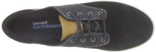 Timberland Casco Bay FTW_EK Casco Bay Ox 3958R - Zapatillas de deporte de cuero para mujer Azul (Blau (Navy))