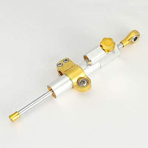 FidgetGear CNC Motorcycle Steering Stabilizer Damper for YZF R1 R6 R6S 600R 750R YZR