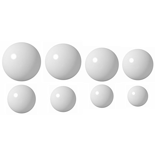 (Eight (8) Delrin Coin Ring Making Balls Kit Assortment)