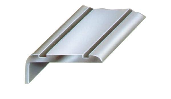 HSI Escaleras rieles, aluminio, Oro, 25 x 20 mm, longitud 100 cm, 1 unidades, 216370.0: Amazon.es: Bricolaje y herramientas