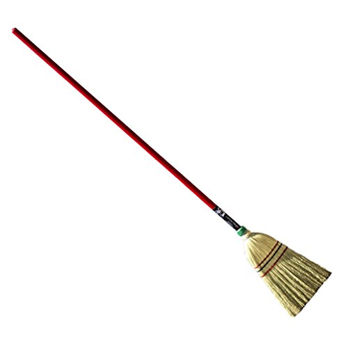 Authentic Hand Made All Broomcorn Broom (48-Inch/Parlor)