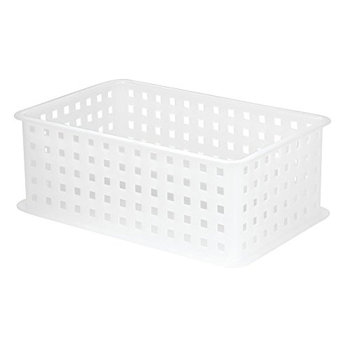 - InterDesign Modulon X2 Storage Basket, Clear