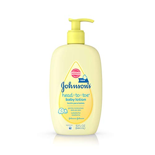 Johnson's Head-To-Toe Baby Lotion, 15 Fl. Oz (Pack of 3)