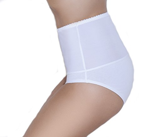 Di ficc hiano Slip Lencería Con Cintura De Cadera de vía de efecto figurenformend en diferentes colores * fabricado en la ue * blanco