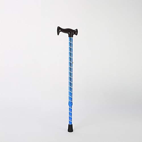 Walking Stick Home Ultraleichtes Ultraleichtes Ultraleichtes rutschfestes Aluminiumrohr für den Außenbereich, Alter Stock, Trekkingstange, Einstellbare Länge (Farbe   Blau, Größe   69-92 cm) B07K8219H7 Wanderstcke Qualität und Verbraucher an erster Stelle 9d13c9