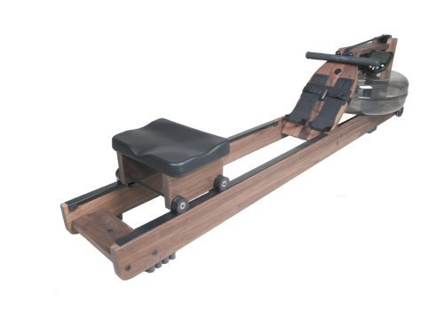 WaterRower 300-S4 Classic Rowing Machine in Black Walnut - Water Rower - Water Rowing Ergometer
