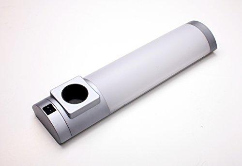 IBV Unterbauleuchte T5 Anbauleuchte mit Steckdose und Schalter Küchenleuchte