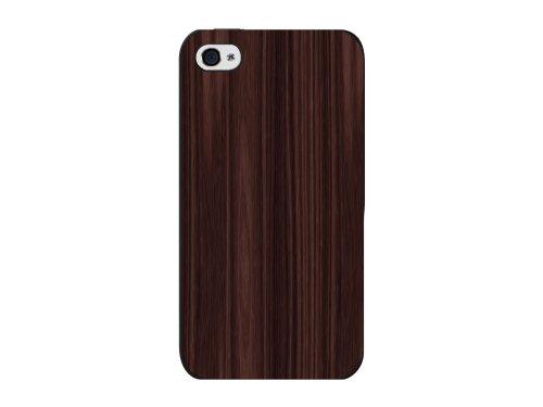 Cellet Wood Design Proguard Case for iPhone 4/4S - Black