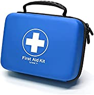SHBC Waterproof First Aid Kit (228pcs) with All Basic or Advanced Supplies You Need. Suitable for Emergencies