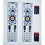 Lot Of Two Remote Controls DIRECTV RC66RX RF Universal Remote Control's W/Batteries Direct TV