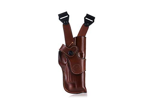 FALCO Vertical Leather Shoulder Holster - Dingo Classic D206 -
