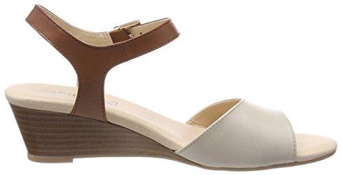 Caprice Women's 28213 Sling Back Sandals Beige (Beige/Nut 463) t2TaDvM