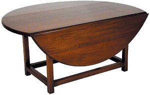 Drop Leaf Coffee Table Circular