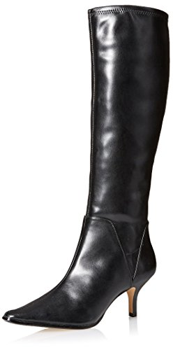 Black Donald Stretch Lena J Pliner Tall Boot Toe Women's Pointed 7qUSxFw