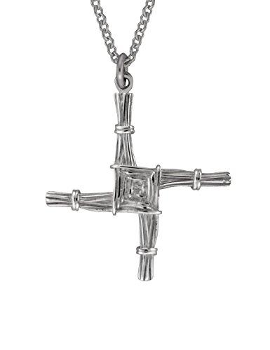 Biddy Murphy St. Brigid Cross Sterling Silver Two Sided Made in Ireland ()