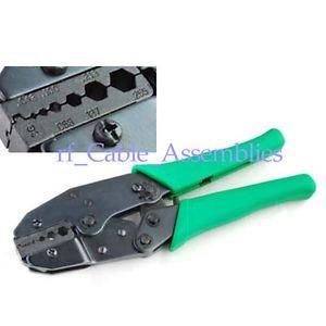 Farook-Crimper crimping tool LMR195 RG58 RG142 RG62 RG174 RG316, SMA/BNC/UHF/N/MCX/MMCX