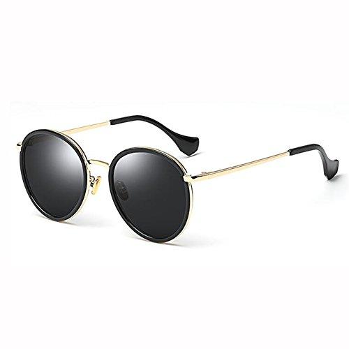 Sol Polarizado Espejo Manejar Gafas Marco 400 2 De xin 4 Retro UV De Personalidad Grande Color WX Moda PU4fnYxw5