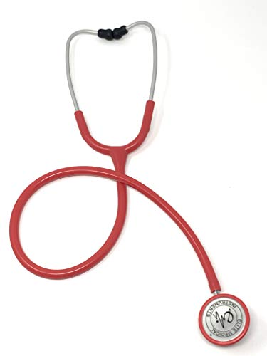 EMI Pink Clinical Light Weight 4 oz Dual Head Stethoscope