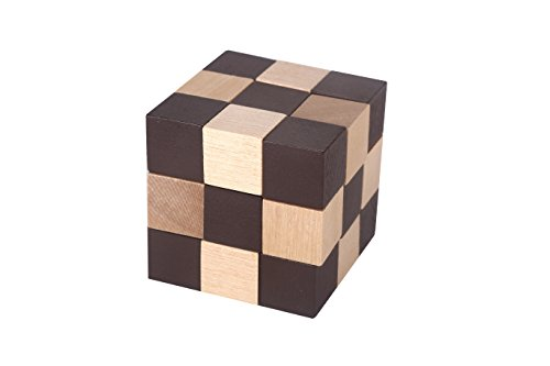 MAGIKON Brain Teaser Cube Puzzle toy (Square Snake (Magna Cube)