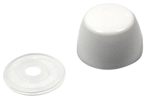 Toto THU044#01 Bolt Cap and Base for All Models Bidet and Toilet, Cotton (Toto Bolt Cap Set)