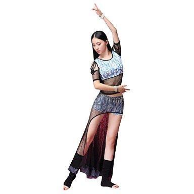 Amazon.com: SISHUINIANHUA BRR-Dress - Traje de danza para el ...