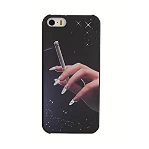 NEW Cigarette Pattern Light Relief Style PC Hard Case for iPhone 5/5S