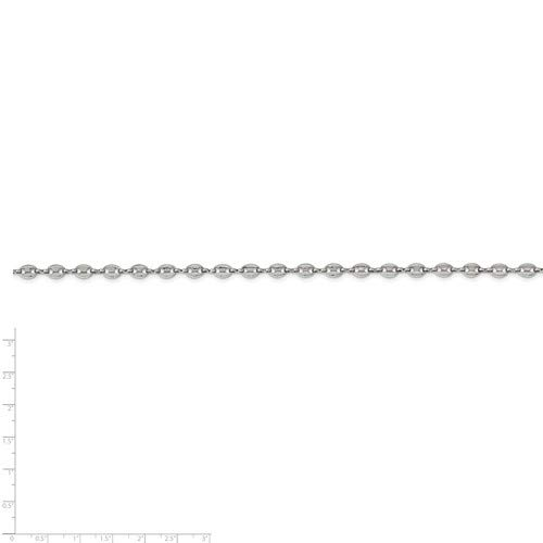 Stainless Steel 5.45mm Mariner Link Chain 18